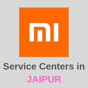 Xiaomi Mi Service Centers in Jaipur, Rajasthan