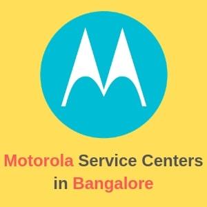 Motorola Service Centers in Bangalore